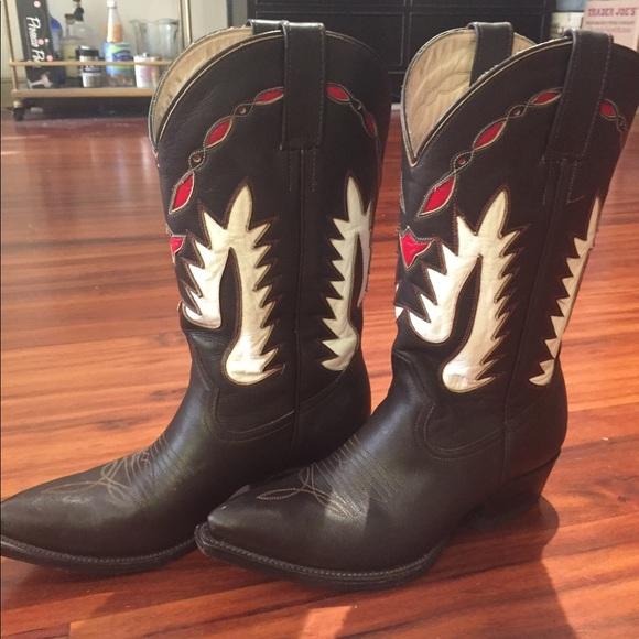 2d6dc58c7da5 Rancho Loco Shoes   Handmade Leather Cowboy Boots   Poshmark